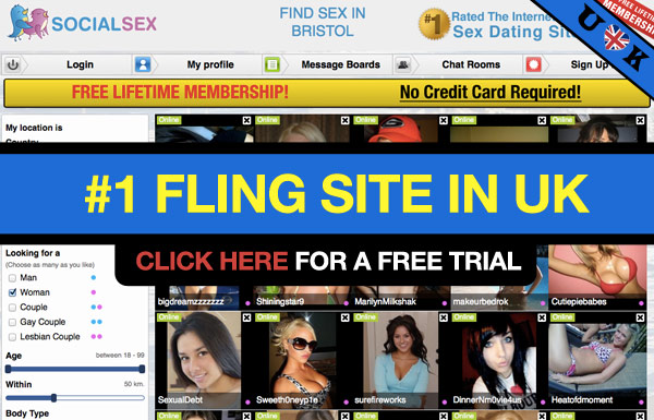 Social sex site